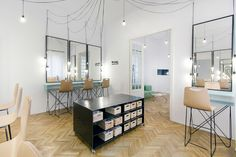 Make-up Studio interior design / Iulian Mosu / Diana Ionescu