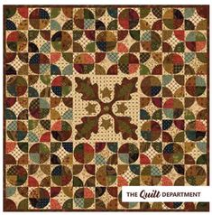 Kim Diehl fat quarter scrap bundle plus the Autumn Tapestry quilt pattern from the Simple Whatnots Club Collection 6.
