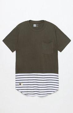 Parallel Pocket Scallop T-Shirt