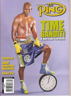 Ring Magazine,Bernard Hopkins, B-Hop, Chavez Jr, IBHOF,boxing,September 2011~NEW