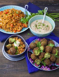 25 Assiettes Vegan - Marie Laforêt - Mezze Libanais Healthy Cooking, Healthy Eating, Cooking Recipes, Veggie Recipes, Healthy Recipes, Veggie Food, Mezze, Plat Vegan, Marie Laforêt
