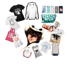 """Baymax from Big Hero 6"" by sissasligh ❤ liked on Polyvore featuring Disney"