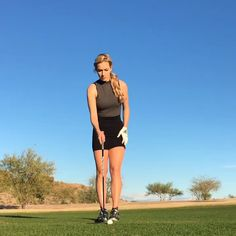It's hard not to smile when you're playing golf with great company and in beautiful weather👌🏻 Girls Golf, Ladies Golf, Mens Golf Fashion, Golf Now, Cute Golf Outfit, Sexy Golf, Golf Drivers, Golf Attire, Golf Exercises