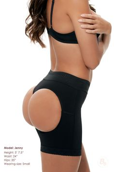 The #1 bestselling Double-O Push-up Booty Bra!