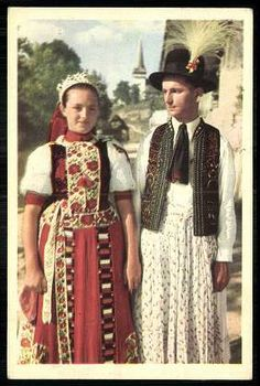 Folk Costume, Girl Costumes, Folk Clothing, Folk Dance, Folk Fashion, People Of The World, Vintage Skirt, Girl Scouts, Traditional Outfits