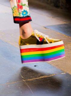 Runway rainbow. @thecoveteur