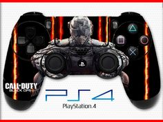 Call of Duty Skin Balck Ops Skin PS4 Controller Skin Sticker Playstation 4 Skin BO3 Skin Soldier Skin