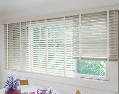 2 Wood Blinds In Fog 13620 This Neutral Room Smithandle Spring2017