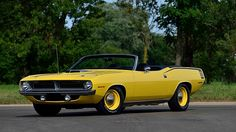 1970 Plymouth Hemi Cuda Convertible 1 of 5 Hemi 4-Speed Convertibles Produced presented as lot R207 at Kissimmee, FL 2016 - image1