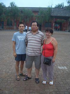 С Мастером Фотографии на стене Чжун-Юани   ВКонтакте