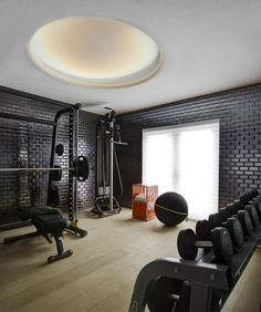 44 best home gyms images dekoration basement gym home gyms rh pinterest com