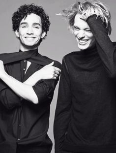 Jamie Campbell Bower & Robert Sheehan