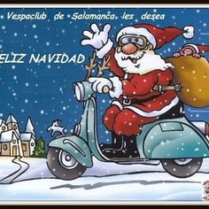 Santa desde Salamanca
