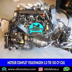 Moteur complet Volkswagen 2.0 TDI 150 cv CUU 🔵2.000 Kms certifiés 🔵Référence moteur CUU 🔵Compatible Audi , Seat , Skoda 🔵Année 2016 🔵Livré complet sans boîte de vitesses 🔵Garantie 6 mois