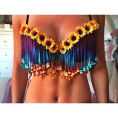 Tie Dye Hippie Bra by EatSleepRaveBras on Etsy