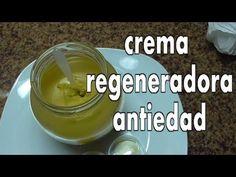 DIY CREMA REGENERADORA ANTIEDAD, REGENERATING AGE DEFENSE CREAM (ingredientes at the description) - YouTube