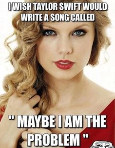 Taylor Swift's next song should be this…