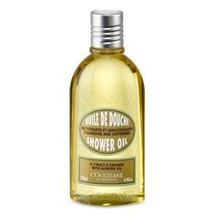 L'occitane Almond Cleansing & Softening Shower Oil, 8.4 Oz, Multicolor