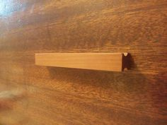 Basic Cherry Wood Cabinet Pull. by waredesignworks on Etsy