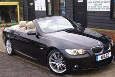 2007 BMW 3 Series 3.0 325i M Sport 2dr Step Auto Convertible Petrol Metallic Black http://www.simonshieldcars.co.uk/used/bmw/3-series/325i-m-sport-2dr-step-auto/ipswich/suffolk/16675710