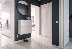 Ikea 'Eket' wall-mounted cabinets