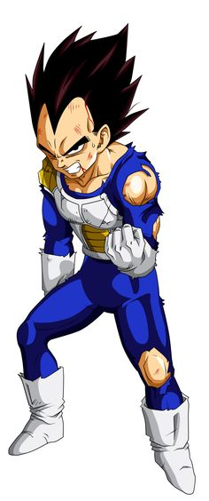 Colored 011 - Vegeta 004 by VICDBZ.deviantart.com on @deviantART