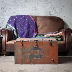 Kantha quilts + Retro Cool box at Scaramangashop.co.uk
