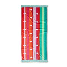In a range of fun, colourful designs these beach towels are perfect for the beach or pool this summer. In a smaller size to suit the little ones, these towels have a soft cotton terry reverse ideal for drying. Adairs Kids, Home Gifts, Beach Towel, Watermelon, Color, Design, Colour, Colors