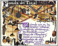 Fonda del Tozal, Teruel.