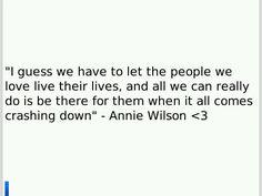 Annie Wilson quote
