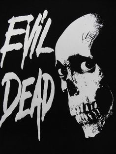EVIL DEAD skull BACKPATCH Free Shipping by LordOfTheLeftHand