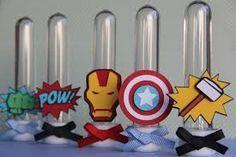 mini cone personalizado super herois - Pesquisa Google