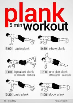 5 Minute Plank Workout: