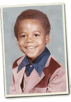 Childhood photo of Cuba Gooding Jr.