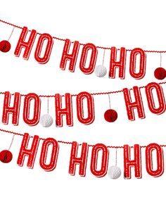 Look at this #zulilyfind! 'Ho Ho Ho' Garland by Talking Tables #zulilyfinds