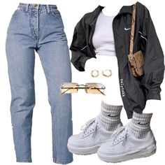 Teen Fashion Outfits, Teenage Outfits, Swag Outfits, Retro Outfits, Look Fashion, Outfits For Teens, Fall Outfits, Swag Fashion, Fashion Pants