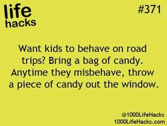 Their kids were loud and misbehaving in the car until they tried this...