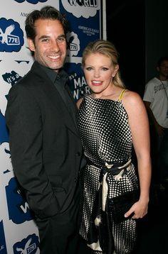 Natalie Maines and Adrian Pasdar
