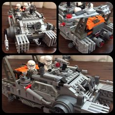Lego hovertank 75152 mod Basically just pimped the set and added an extra pilot Cool Toys, Awesome Toys, Lego Toys, Lego Design, Lego Models, Lego Projects, Lego Batman, Lego Pieces, Lego Star Wars