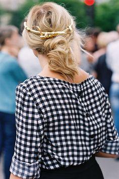 blusa xadrez