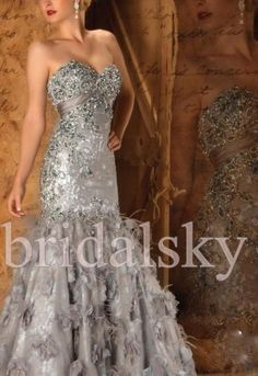 A full-length luxury dress from Mac Duggal Couture that is perfectly designed and cut to give you a sophisticated and highly fashionable look. Couture Dresses, Bridal Dresses, Party Dresses, Dinner Dresses, Glam Dresses, Wedding Gowns, Formal Gowns, Strapless Dress Formal, Expensive Dresses