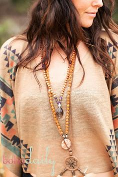How to Chic: BOHO NECKLACE