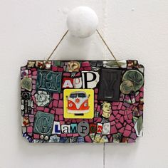 Brill Glamping Sign from our friends at http://www.artkoremosaics.co.uk/