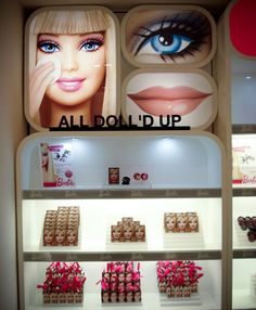 The Barbie All Doll'd Up makeup line and Plastic Smooth skincare line available exclusively in Hong Kong and Shanghai.