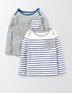 Twin Pack T-Shirt 71591 T-shirts at Boden