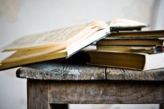 Rustic Books /  Wall Art / Still life Photography