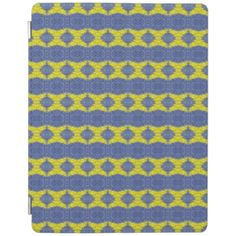 A colorful and trendy pattern the give the product a stylish and modern looks with this decorative and abstract looks. Yellow and blue vertical pattern. You can also customized it to get a more personal look. Ipad 1, Ipad Case, Abstract Pattern, Blue Yellow, Colorful, Shapes, Texture, Stylish, Mini