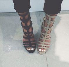 Shoes struggles #heels #want #love #nude #black