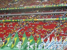 Mané Garrincha recebeu a cerimônia de abertura da Copa das Confederações(© AP)