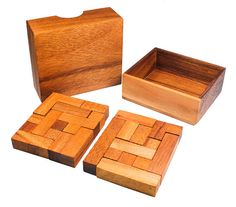 Cube Quest Wooden Puzzle by StragaProducts on Etsy